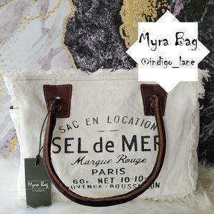 "💙 Myra ""Charming"" Canvas Handbag"